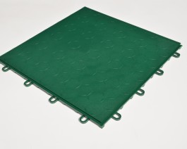 Garage Flooring click together interlocking tiles Racing Green by Dynotile | Dynotile