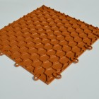 Garage Flooring click together interlocking tiles Toffee Brown by Dynotile | Dynotile