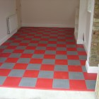 Garage Floor Skirting Board from Dynotile.